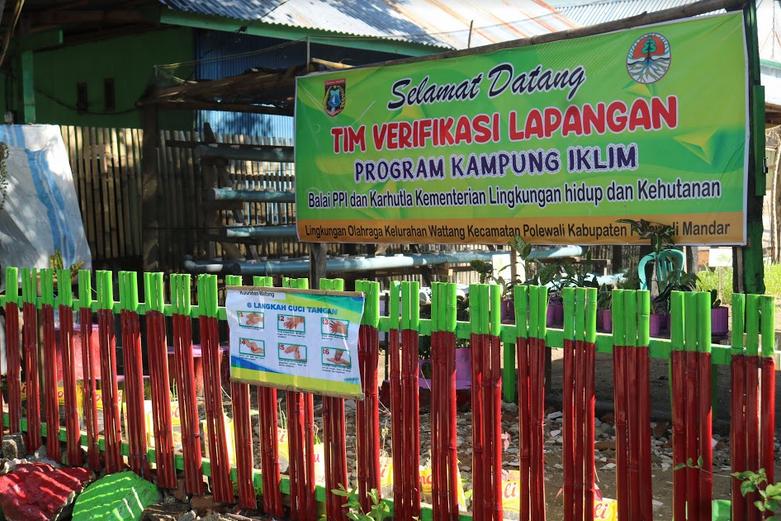 DLHK Polman bersama BPPI dan Karhutla Wilayah Sulawesi Lakukan Verifikasi pada 6 Desa Calon Proklim