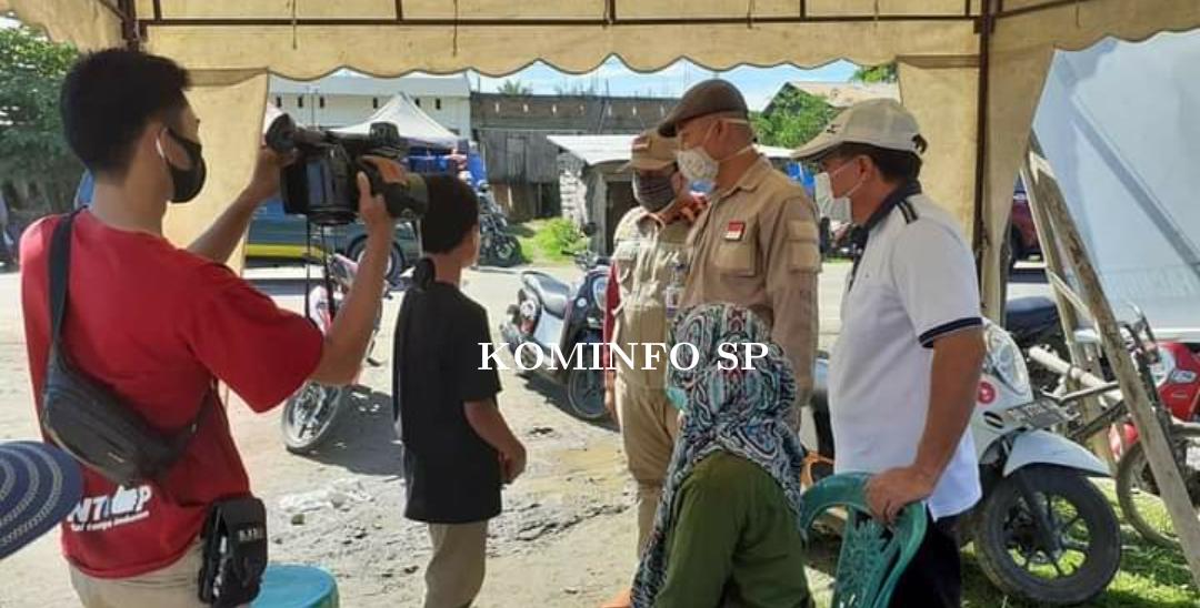 Operasi Yustisi : Edukasi Masyarakat Pentingnya, Memakai Masker Di Kecamatan Luyo