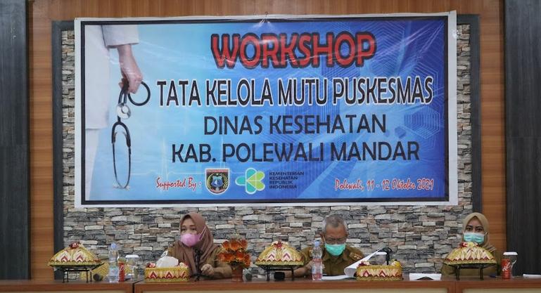 Dorong Peningkatan Layanan, Dinkes Gelar Workshop Tata Kelola Mutu Puskesmas